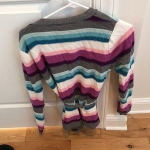 New York & Company Sweaters - New York & Company wrap tie waist sweater